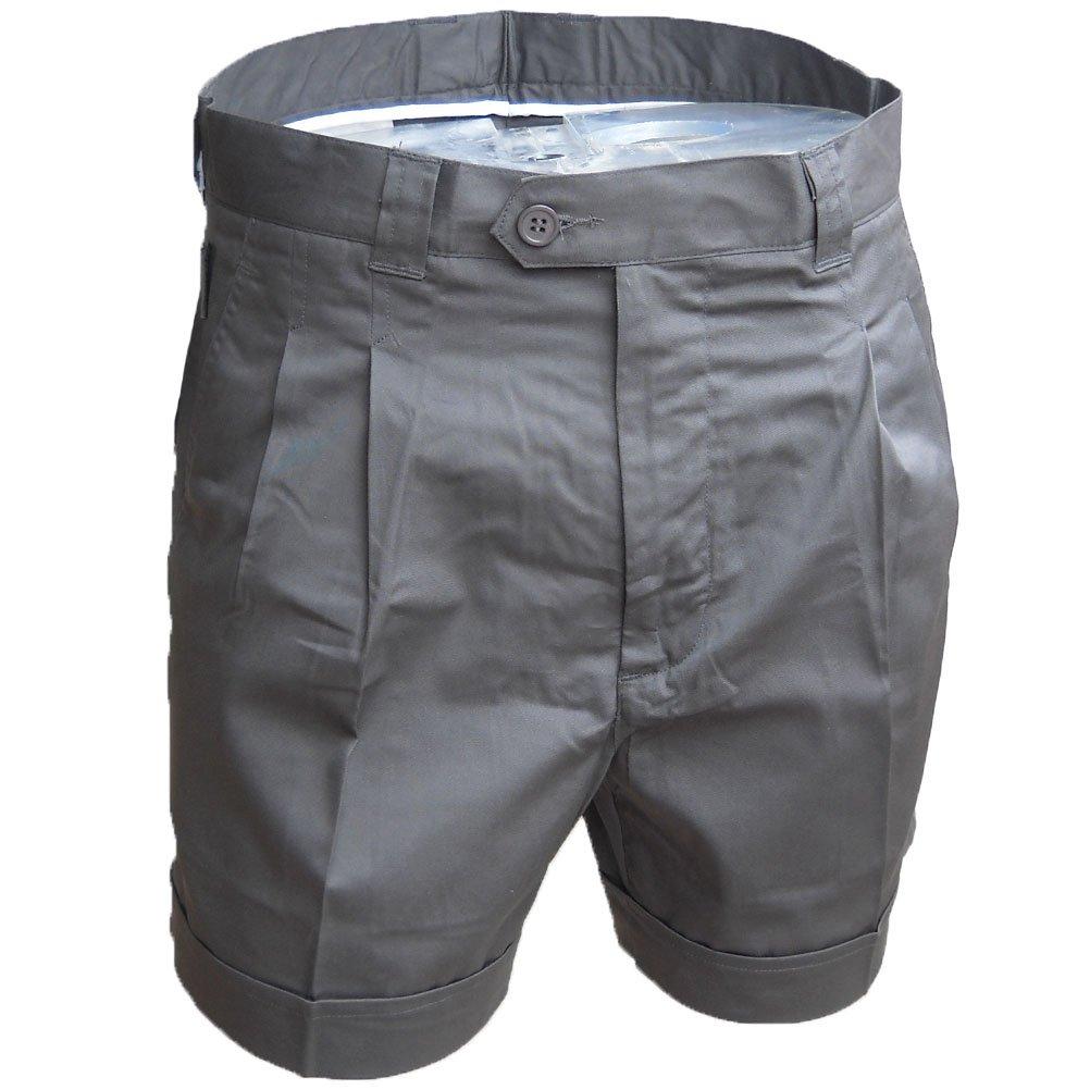 TALLA 54. Fratelliditalia Bermuda Pantalones Short Hombre Verano Algodón Deportivo Playa Bolsillos Pesca