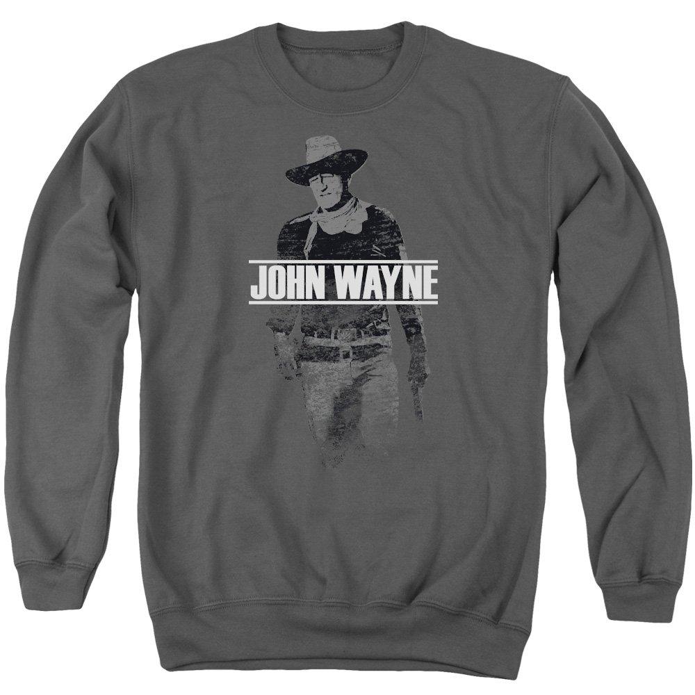 Unbekannt John Wayne Herren Kapuzenpullover Opaque Grau grau