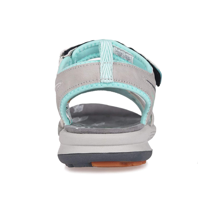 GRITION Damen Damen Damen Wandern Sandalen Frauen Outdoor Sport Wasser Schuhe Sommer Flach Cross-Tied Beach Wanderschuhe Open Toe Verstellbare Klettverschluss Leichte Walking Wandersandalen MEHRWEG 880a78