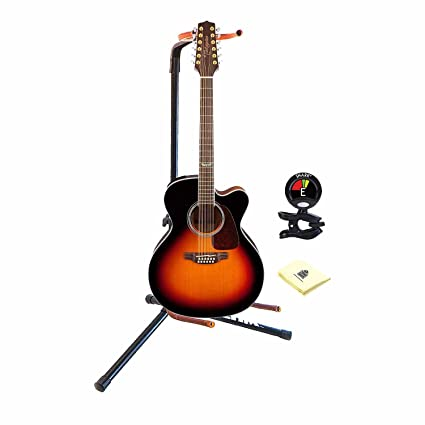Amazon com: Takamine GJ72CE-12 BSB 12 String Acoustic Electric