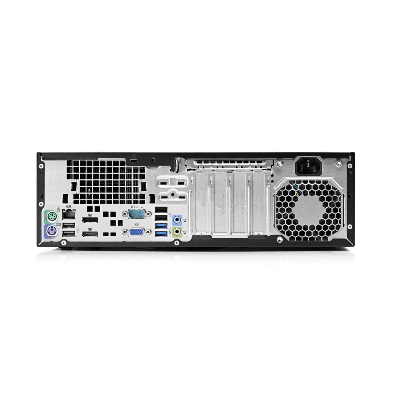 HP ProDesk 600 G1 SFF Slim Business Desktop Computer, Intel i5-4570 up to 3.60 GHz, 8GB RAM, 500GB HDD, DVD, USB 3.0, Windows 10 Pro 64 Bit (Renewed) (8GB RAM | 500GB HDD) by HP