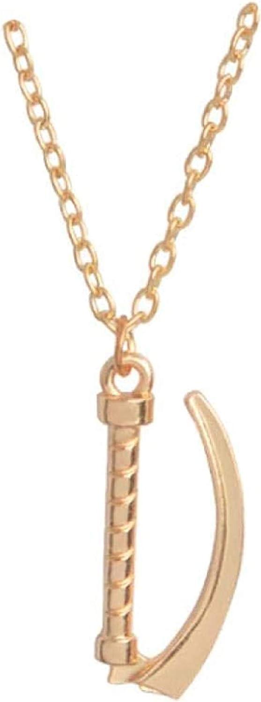 Collar Laringoscopio Colgante Collar Oro Plata Química Pin Encanto Joyería Regalo para Médico