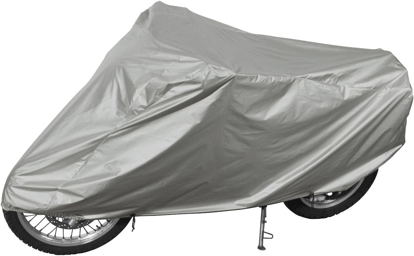 Gr. M - 200 x 80//50 x 110//70 cm CRIVIT/® Motorrad-Faltgarage mit Kennzeichenfenster