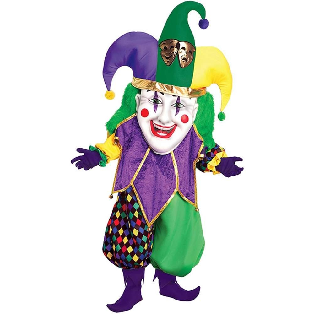 Forum Parade Pleasers Oversized Mardi Gras Jester Costume