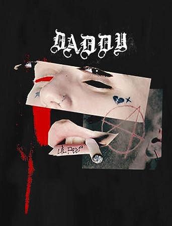e12e91a01 Image Unavailable. Image not available for. Color: Babby Lil peep sus boy T  Shirt Soundcloud Hip Hop Rapper Black