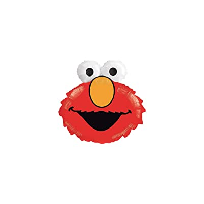 "Anagram Elmo 20"" Jumbo Foil Balloon: Toys & Games"