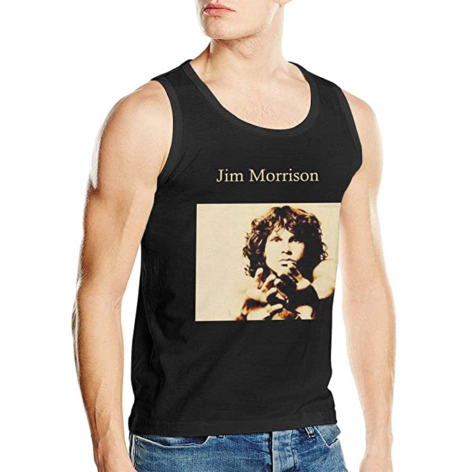 a99f13cef0a59f Robert A Gonzalez Jim Morrison Workout Fitness Casual Tank Tops Men Shirt Mens  Tank Tops Black