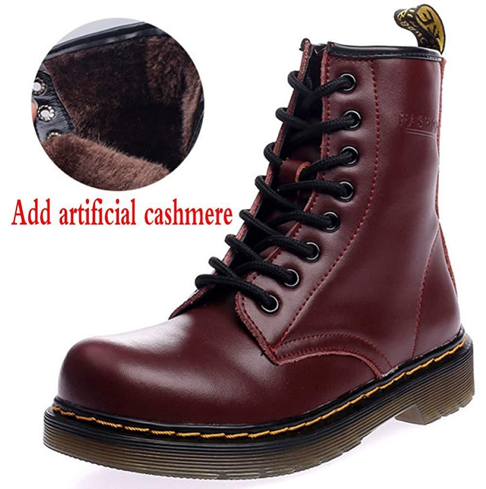 Männer Und Frauen Knöchel Knöchel Knöchel Martin Stiefel Warm Plus Baumwolle Schneeschuhe Liebhaber Schuhe (Farbe   12, Größe   39EU) 16dfd3