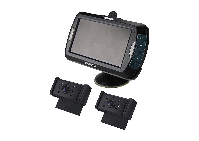 Pro-User DRC7010 20132 Digitales Funk-R/ückfahrkamerasystem f/ür 12V und 24V Systeme mit 7,0 Zoll Monitor und Nachtsichtkamera ohne Signalst/örungen