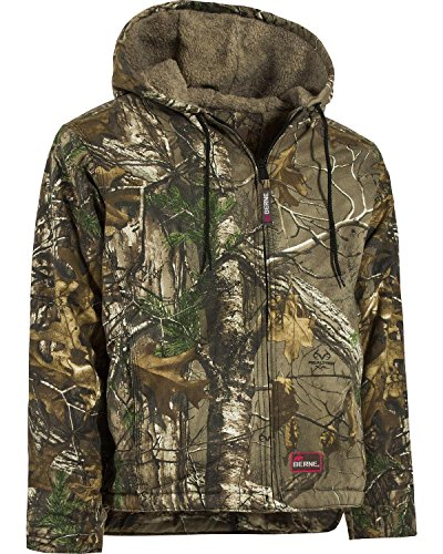 Women's Berne Snow Drift Hooded Hunting Coat, Realtree Xtra, (Berne Apparel Lined Coat)