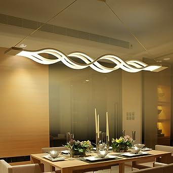 Lampadario a sospensione a LED, per tavolo da pranzo, lampadario ...