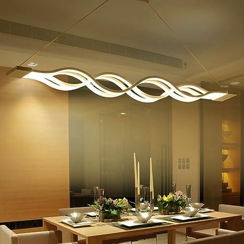 LED Pendelleuchte, esstisch Hängelampe Wohnzimmer Küche LED ...