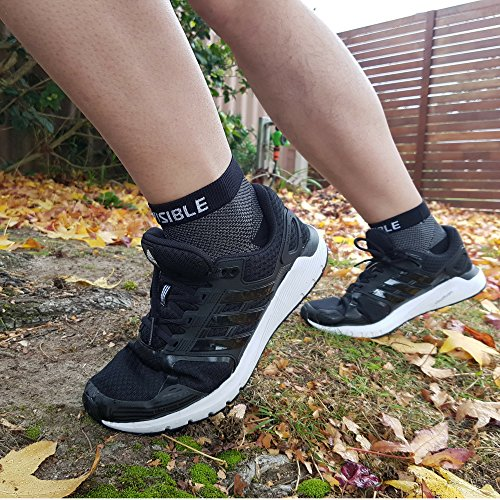 BeVisible Sports Plantar Fasciitis Socks - High Performance Compression Foot Sleeves With Arch Support For Men and Women - Helps Boost Circulation, Reduces Swellings For Foot and Heel Pain Relief by BeVisible Sports (Image #6)