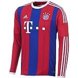 adidas Bayern Munich 2014/2015 LS Home Jersey