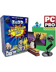 Kit d'animation Zu3D pour PC Windows, Apple Mac OS X et iPad iOS: kit d'animation stop motion complet avec caméra, logiciel et manuel d'animation