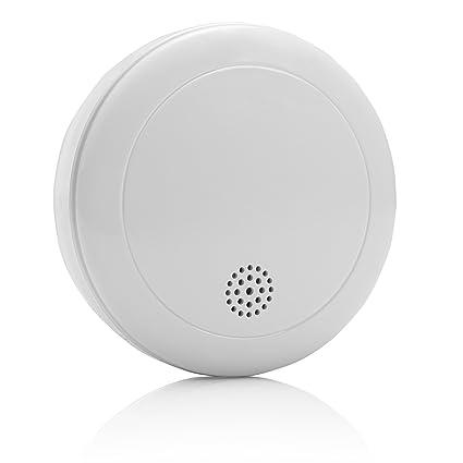 Smartwares 10.006.74 Alarma de Humo-Batería VDS RM218 10 años, Blanco