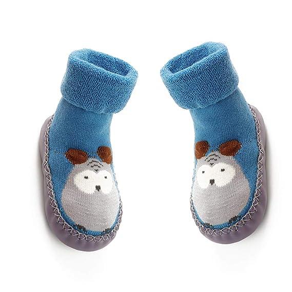 non Slip Chaussettes 14cm bébé respirant Chaussures Wudi 0k8nOPw