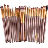 Buytra 20-Piece Makeup Brushes Makeup Brush Set Cosmetics Foundation Blending Blush Eyeliner Concealer Face Powder Brush