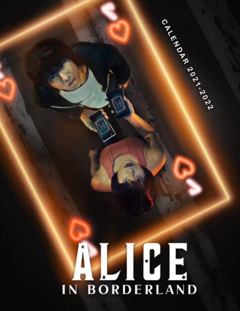 Amazon.com: Alice in Borderland Calendar 2021-2022: Special Calendar & Planner for Fans (2 Years Calendar) (9798597907574): Publishing, Arc: Books
