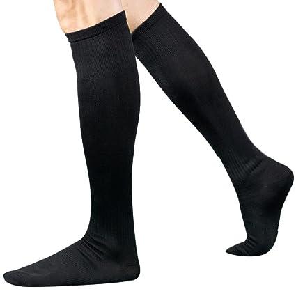 Morwind Medias de Fútbol,Calcetines de Deporte Calcetines Hombre Calcetines Antideslizantes Medias de Compresion Calcetines