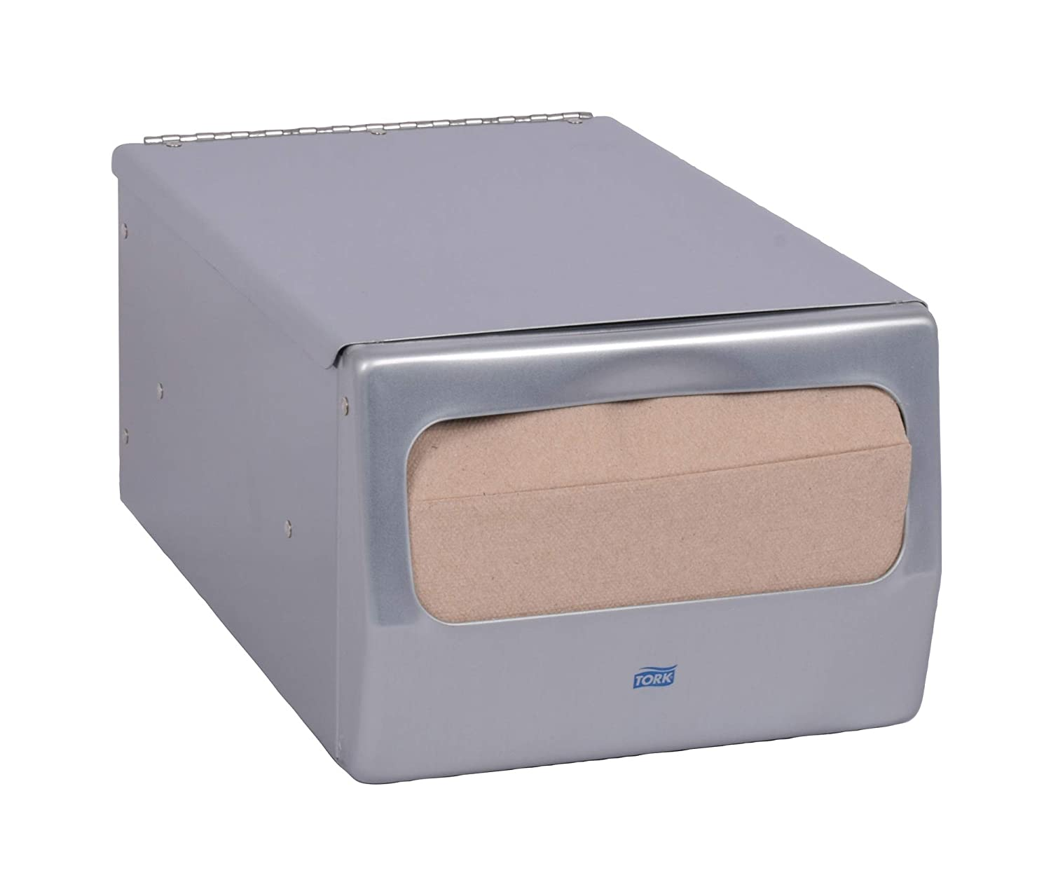Amazon.com: Tork 17CBS Masterfold Counter Napkin Dispenser, 5.625