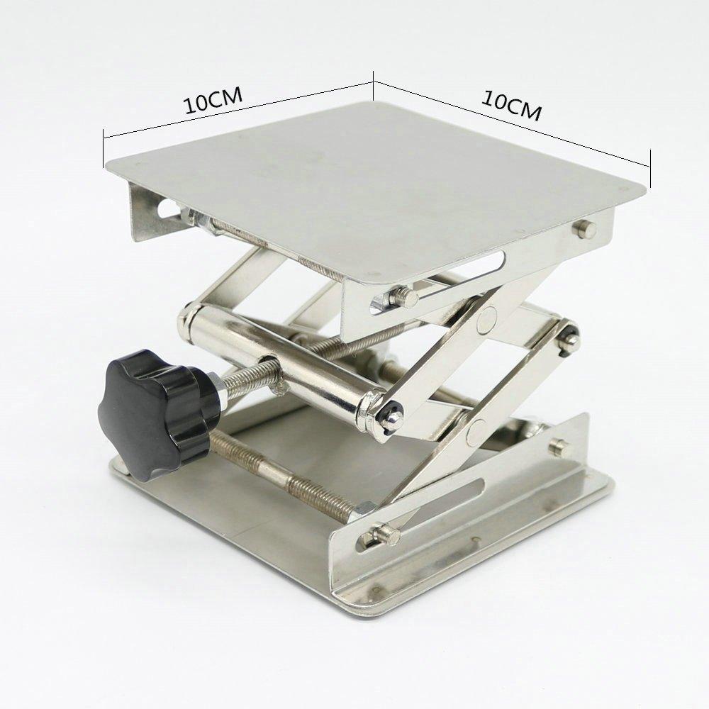 Plataforma elevadora para laboratorio plataforma con gato estabilizador 8 Inch X 8 Inch 1 YaeTek American Educational