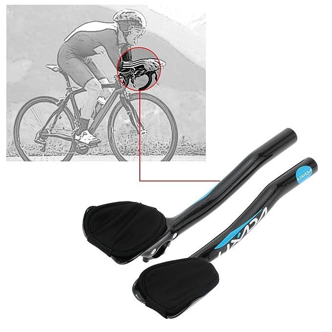 RXL SL Fahrradlenkstange 31.8 TT Bar Carbon Fiber Triathlon Lenker Rennrad//Mountainbike Rest Lenkstange 340mm TT Handlebar