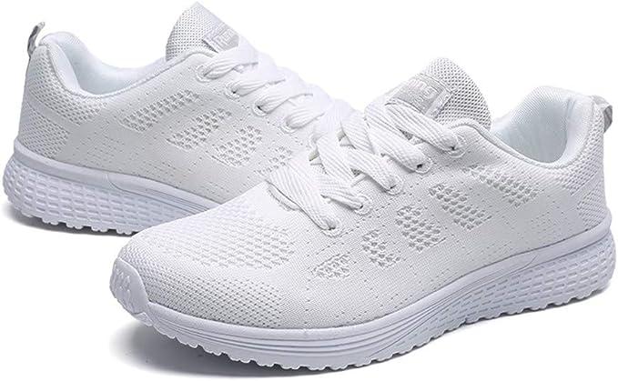 Darringls Zapatos para Hombre, Zapatillas Running Hombre Mujer Zapatos Deporte para Correr Trail Fitness Sneakers Ligero Transpirable: Amazon.es: Ropa y accesorios