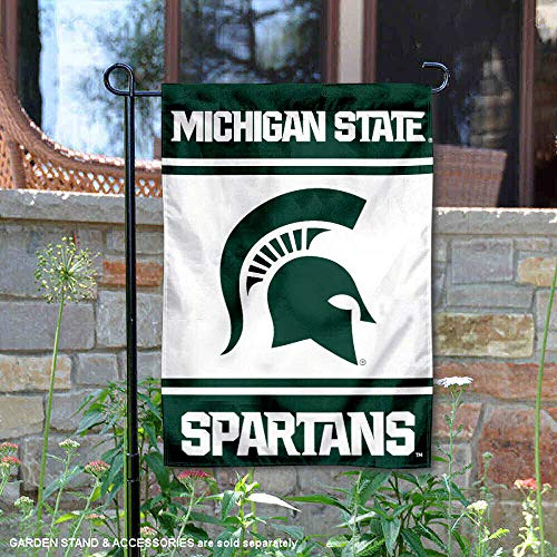 Michigan State Banner - College Flags and Banners Co. Michigan State Spartans Garden Flag