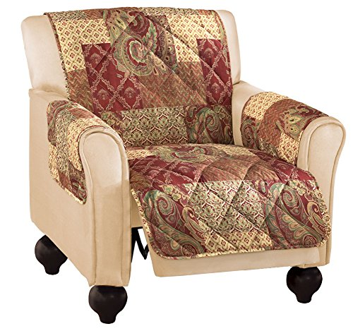 Paisley Patchwork Furniture Protector Recliner