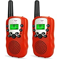 TOP Gift Gift for 3-12 Year Old Boys Walkie Talkies for Kids Best Gifts for 3-12 Year Old Girls Toys for Boys Age of 3-12 Year Old Toys for Girls Age of 3-12 Year Old Gifts for Kids Red TGDJ04