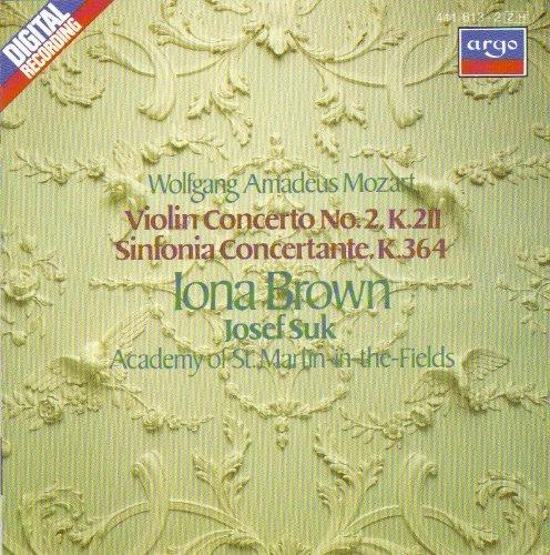 Sinfonia Concertante K.364 Violin Concerto no.2.k.211 by Unknown (0100-01-01)
