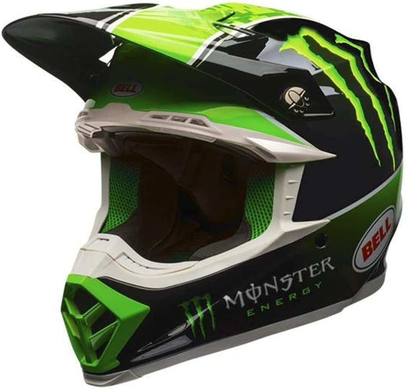 Intake Matte Black, Large Bell Moto-9 Off-Road Motorcycle Helmet