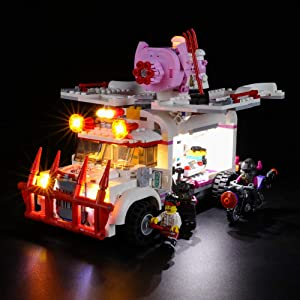 BRIKSMAX Led Lighting Kit for Creator Pigsy's Food Truck - Compatible with Lego 80009 Building Blocks Model- Not Include The Lego Set