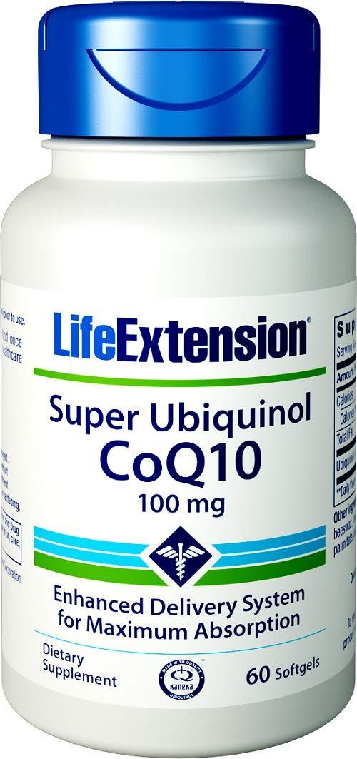 Life Extension Super Ubiquinol CoQ10 100 mg, 60 Softgels by Life Extension