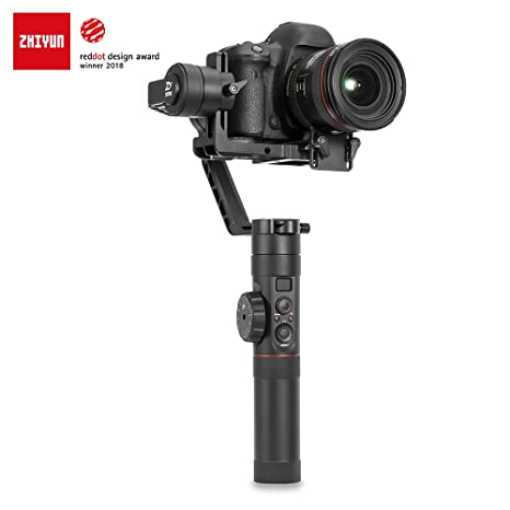 Zhiyun Crane 2 3-Axis Stabilizer with Follow Focus and 2 Pair Battery Digital Cameras at amazon