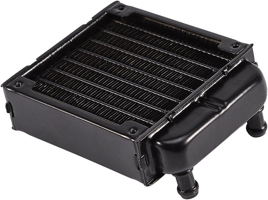 80MM Richer-R Boitier PC Refroidisseur Ordinateur deau de Refroidissement Radiateur Dissipateur de Chaleur en Aluminium