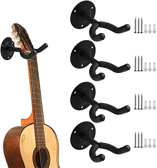 Yorgewd - Soporte de Pared para Guitarras eléctricas acústicas y ...