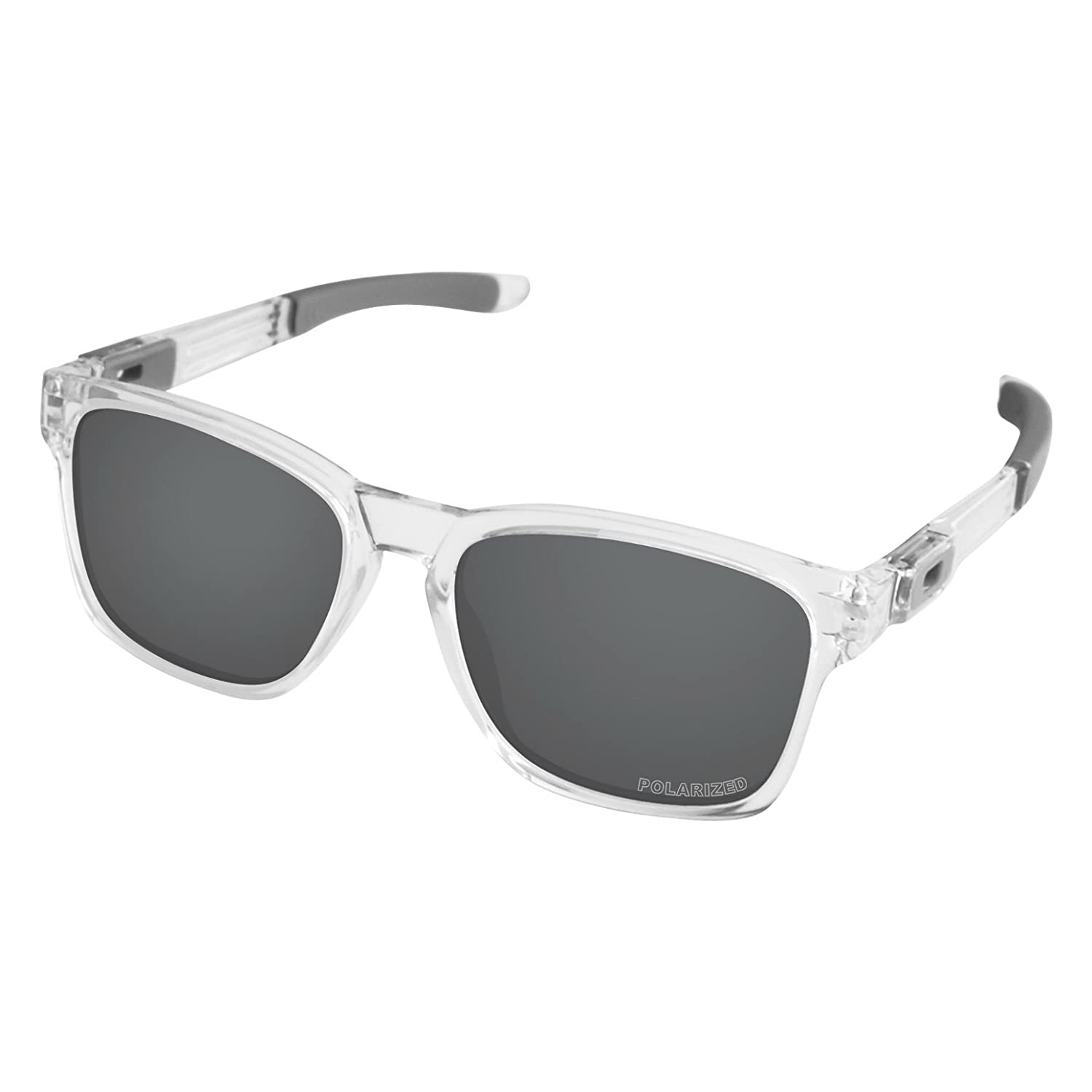 b372ee7877 Amazon.com  Tintart Performance Lenses Compatible with Oakley Catalyst  Polarized Etched-Carbon Black  Clothing