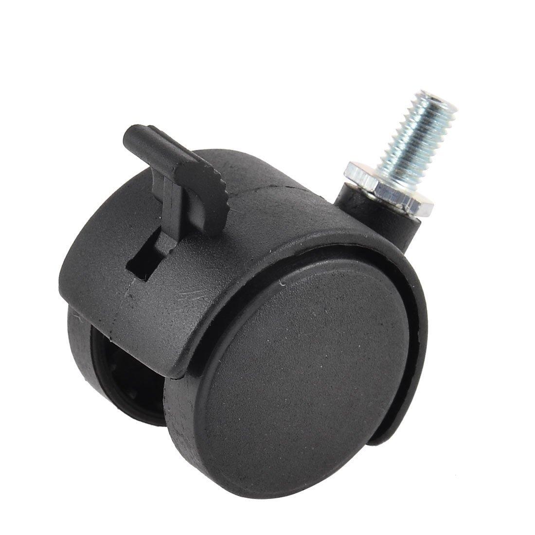 eDealMax Silla DE 1, 5 pulgadas de diámetro de plástico Emparejado anillo de Freno Rueda giratoria 20PCS: Amazon.com: Industrial & Scientific