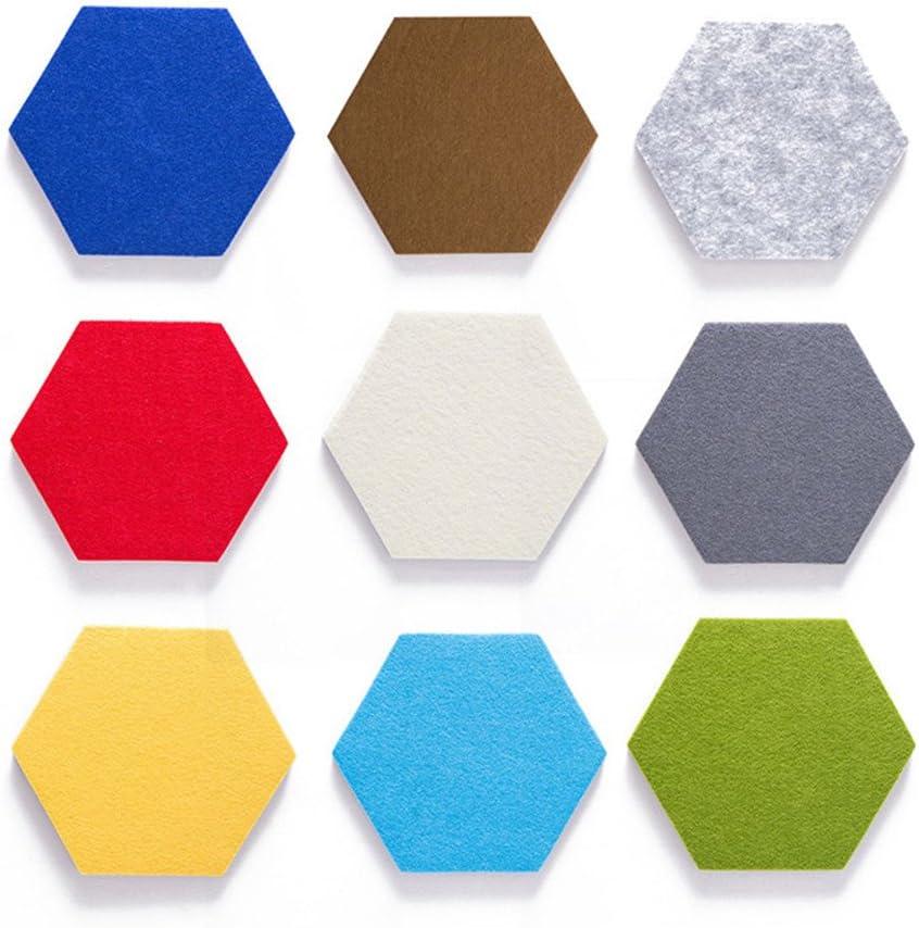 Pizarra de corcho hexagonal de Colores para Decoración