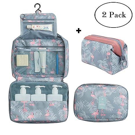 Amazon.com: Neceser colgante de viaje para cosméticos, bolsa ...