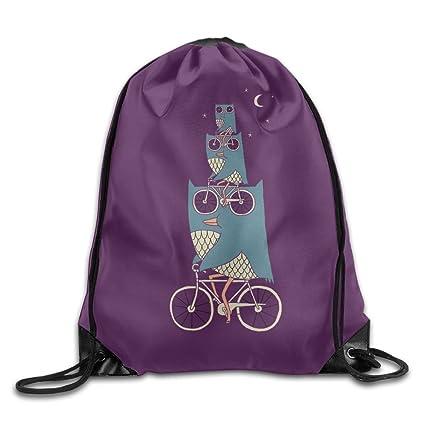 07ff8e33cb1 Cycling Owl Designs Drawstring Backpack Girls Waterproof Shoulder Bag Tote  Dance