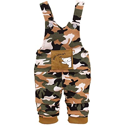 YAO Baby 0-2Years Bear Baby Pants Baby Brace Pants Baby Overalls Newborn Pants