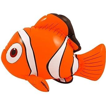Nemo - Pez payaso hinchable (45 cm), Nemo Fish: Amazon.es ...