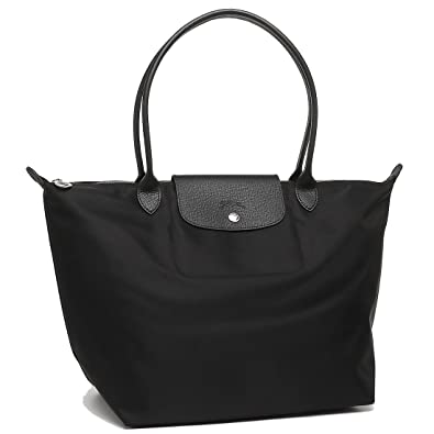 a89782aaae52 (ロンシャン) LONGCHAMP トートバッグ LE PLIAGE NEO プリアージュネオ L NOIR 1899 578