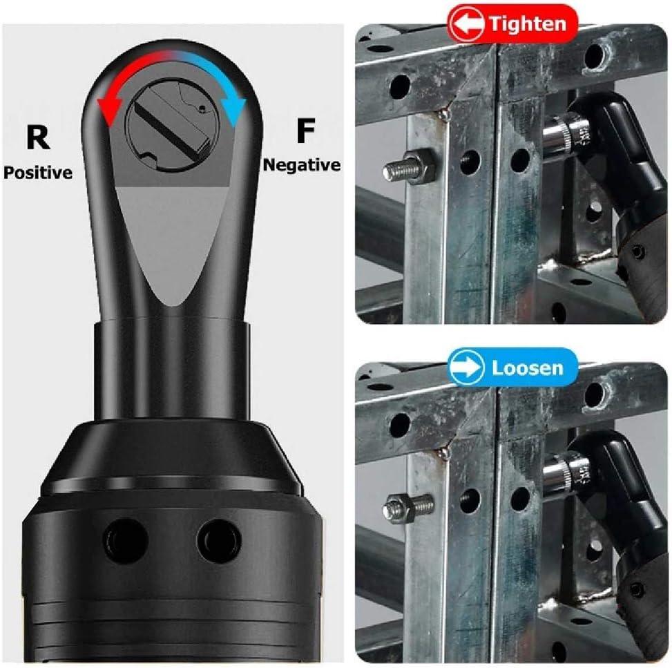 ROZIN Cl/é /Électrique Efficace 42V Perceuse /À Angle Tournevis 3//8 Cl/é /À Cliquet sans Fil /Échafaudage 100NM avec Batterie Lithium-ION 1//2,A