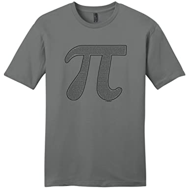 Amazon Thiswear Funny Math Gifts Pi Filled Pi Symbol Young Mens
