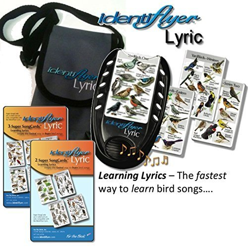 Identiflyer Lyric 140 Birds & Frogs Kit Includes Machine, 3 & 2 Cards set & Case by Identiflyer