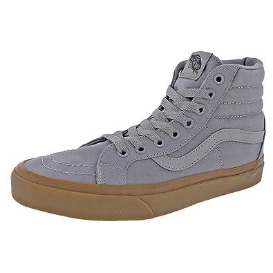 9566a0ba38 Vans SK8-Hi Reissue Frost Grey Light Gum Canvas Sneakers VN0AXSBLWX Men  Shoes (7.0 Mens  8.5 Womens)  Amazon.co.uk  Shoes   Bags